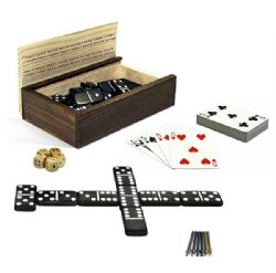 DOMINOES & MORE, 10-IN-1(ENGLISH)