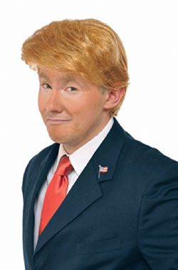 DONALD J.TRUMP -  MR. BILLIONAIRE WIG - BLOND