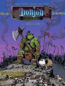 DONJON -  L'ARMÉE DE CRÂNE -  ANTIPODES -10000