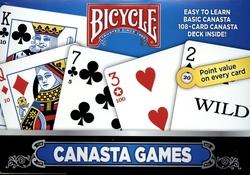 DOUBLE CARD SET, CANASTA