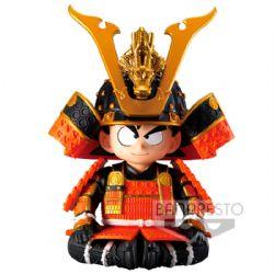 DRAGON BALL -  FIGURE - JAPANESE ARMOR AND HELMET - 12CM -  SON GOKU