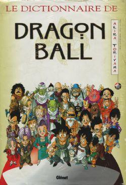 DRAGON BALL -  MANGA USAGÉ - LE DICTIONNAIRE DE DRAGON BALL