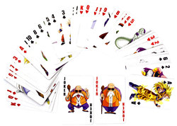 DRAGON BALL -  PLAYING CARDS -  DRAGON BALL Z