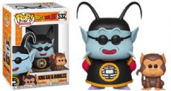 DRAGON BALL -  POP! VINYL FIGURE OF KING KAI AND BUBBLES (4 INCH) 532