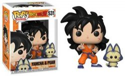 DRAGON BALL -  POP! VINYL FIGURE OF YAMCHA AND PUAR (4 INCH) 531