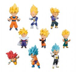 DRAGON BALL -  RANDOM FIGURE (3INCHES) -  DRAGON BALL SUPER WORLD COLLECTIBLE