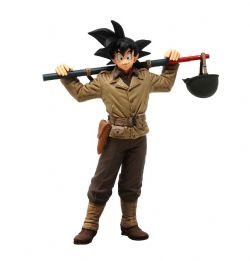 DRAGON BALL -  SON GOKU STATUE (7 1/8INCH) -  DAGRON BALL Z BWFC V4