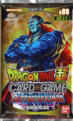 DRAGON BALL SUPER -  BOOSTER PACK (P12/B24) -  DESTROYER KINGS B06