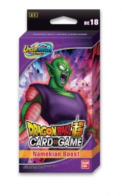 DRAGON BALL SUPER -  EXPANSION SET #18 - NAMEKIAN BOOST (3P12 + 10 CARDS) -  UNISON WARRIOR