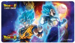 DRAGON BALL SUPER -  GAME MAT - VEGETA, GOKU, BROLY (24