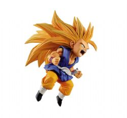 DRAGON BALL -  SUPER SAIYAN 3 FIGURE (3 7/8 INCH) -  SON GOKU FES V10