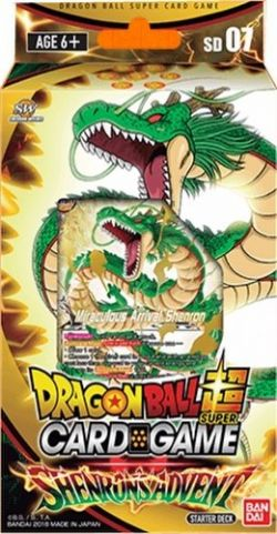 DRAGON BALL SUPER -  SHENRON'S ADVENT STARTER DECK -  SHENRON WISHES SD07