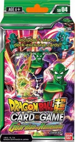 DRAGON BALL SUPER -  THE GUARDIAN OF NAMEKIANS STARTER DECK -  OVER REALM SD04