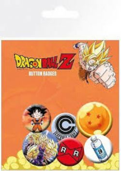 DRAGON BALL Z -  SET OF 6 PINS