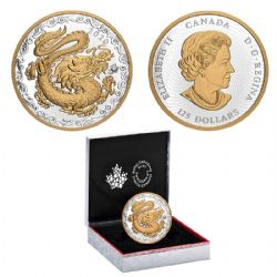 DRAGON OF THE CHINESE NEW YEAR -  THE LUCKY DRAGON -  2020 CANADIAN COINS 02