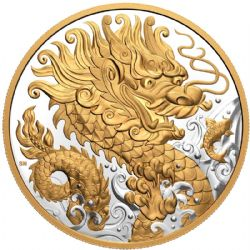 DRAGON OF THE CHINESE NEW YEAR -  THE TRIUMPHANT DRAGON -  2021 CANADIAN COINS 03
