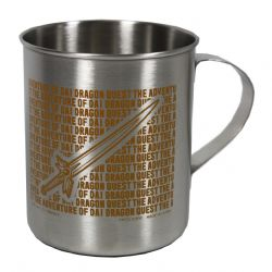 DRAGON QUEST -  STAINLESS MUG YELLOW