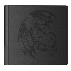 DRAGON SHIELD -  24-POCKET PORTFOLIO - CARD CODEX - BLACK TRIBAL (20 PAGES)