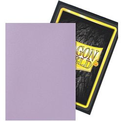 DRAGON SHIELD -  YU-GI-OH! SIZE SLEEVES - ORCHID - DUAL MATTE (60)