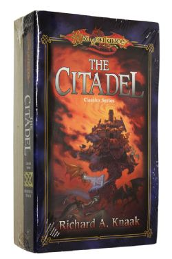 DRAGONLANCE -  CLASSICS SERIES : THE CITADEL + DALAMAR THE DARK, USED (ENGLISH)