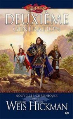 DRAGONLANCE -  DEUXIEME GENERATION - LIVRE USAGÉ (V.F) 1 -  NOUVELLES CHRONIQUES 07