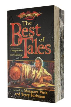 DRAGONLANCE -  VARIOUS BOOKS : TALES OF UNCLE TRAPSPRINGER + THE BEST OF TALES, USED (ENGLISH)