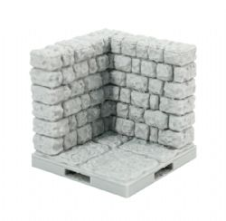 DRAGONLOCK SCENERY -  CORNER ROCK WALL -  DUNGEON