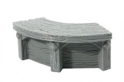 DRAGONLOCK SCENERY -  CURVED COUNTER -  FURNITURES