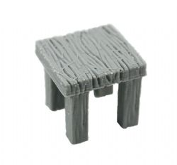 DRAGONLOCK SCENERY -  SQUARE TABLE -  FURNITURES