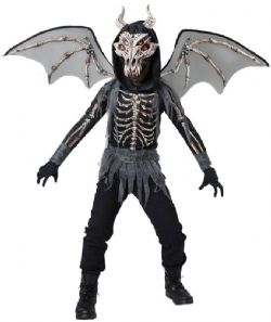 DRAGONS -  DRAGON SKELETON COSTUME (CHILD)