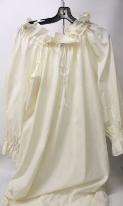 DRESS -  MUSLIN UNDERDRESS - WHITE (SMALL)