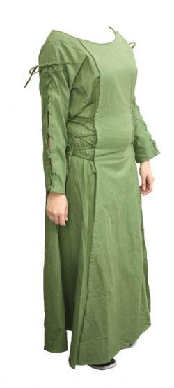 DRESS -  PRIESTESS DRESS - GREEN