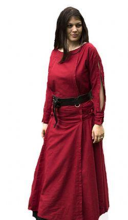 DRESS -  PRIESTESS DRESS - RED (X-LARGE)