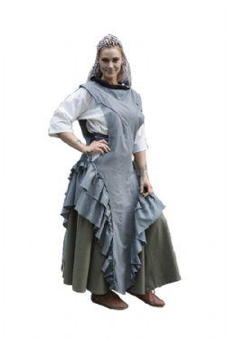DRESS -  RAVEN DRESS - GREY (LARGE)