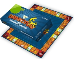 DRINKOPOLY -  DRINKOPOLY - THE BLURRIEST GAME EVER (ENGLISH)