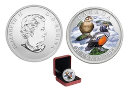 DUCKS OF CANADA -  HARLEQUIN DUCK -  2014 CANADIAN COINS 04