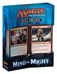 DUEL DECKS -  MIND VS. MIGHT (2 X 60-CARD DECKS)