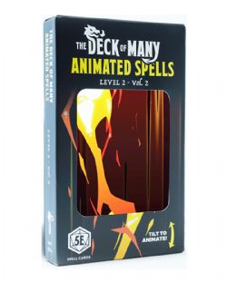 DUNGEONS & DRAGONS 5 -  ANIMATED SPELLS - LEVEL 2 - VOL. 2 (ENGLISH) -  THE DECK OF MANY