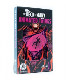 DUNGEONS & DRAGONS 5 -  ANIMATED THINGS (ENGLISH) -  THE DECK OF MANY