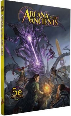 DUNGEONS & DRAGONS 5 -  ARCANA OF THE ANCIENTS 5E HC