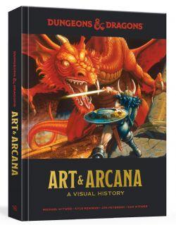 DUNGEONS & DRAGONS 5 -  ART & ARCANA (ENGLISH) -  A VISUAL HISTORY