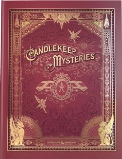 DUNGEONS & DRAGONS 5 -  CANDLEKEEP MYSTERIES - ALTERNATE COVER (ENGLISH)
