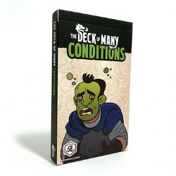 DUNGEONS & DRAGONS 5 -  CONDITIONS (ENGLISH) -  THE DECK OF MANY
