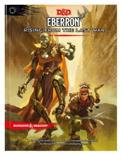 DUNGEONS & DRAGONS 5 -  CORE RULEBOOK (ENGLISH) -  EBERRON - RISING FROM THE LAST WAR
