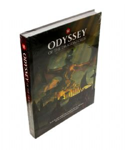 DUNGEONS & DRAGONS 5 -  CORE RULEBOOK (ENGLISH) -  ODYSSEY OF THE DRAGONLORDS