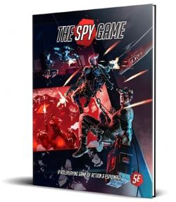 DUNGEONS & DRAGONS 5 -  CORE RULEBOOK (ENGLISH) -  THE SPY GAME