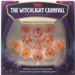 DUNGEONS & DRAGONS 5 -  DICE AND MISCELLANY (ENGLISH) -  THE WITCHLIGHT CARNIVAL