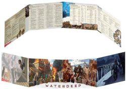 DUNGEONS & DRAGONS 5 -  DUNGEON MASTER'S SCREEN - WATERDEEP DRAGON HEIST (ENGLISH)