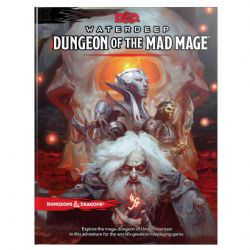 DUNGEONS & DRAGONS 5 -  DUNGEON OF THE MAD MAGE - MAPS AND MISCELLANY (ENGLISH)
