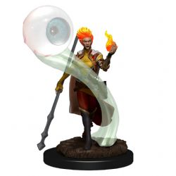 DUNGEONS & DRAGONS 5 -  FEMALE FIRE GENASI WIZARD -  ICONS OF THE REALMS